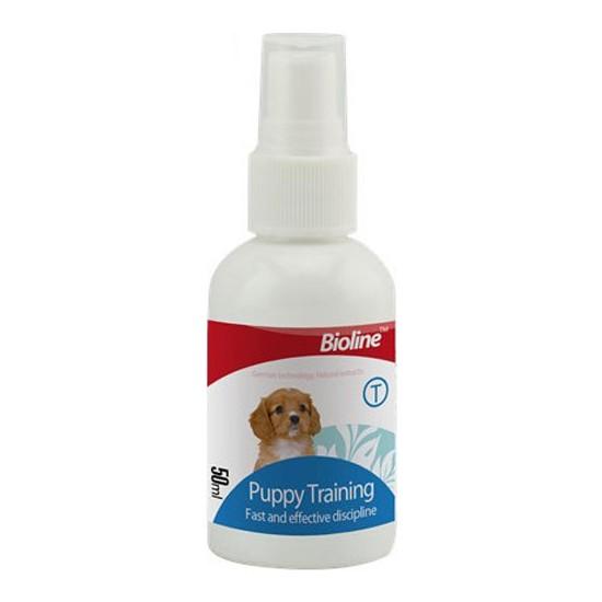 Bioline Köpek Tuvalet Eğitim Spreyi 50 Ml