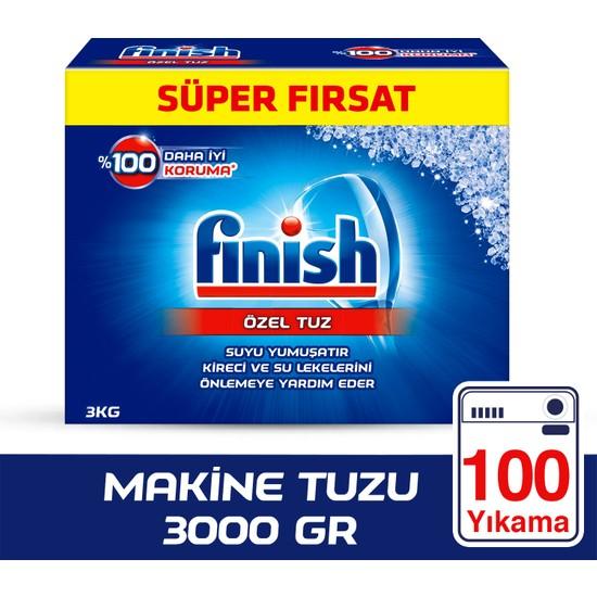 Finish Bulaşık Makinesi Tuzu 3000 gr