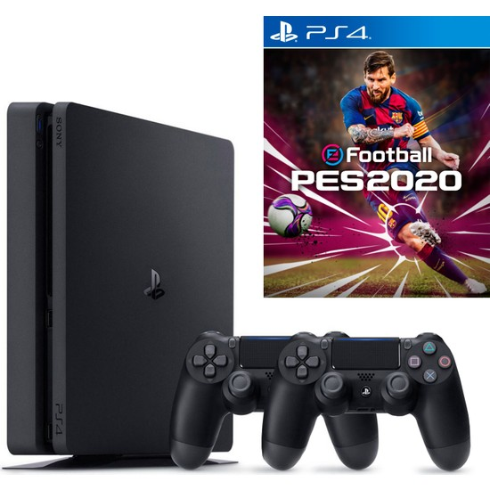 Sony PS4 Slim 500 GB Oyun Konsolu + PS4 NBA 2K20 + 2. PS4 Kol (Eurasia Garantili)
