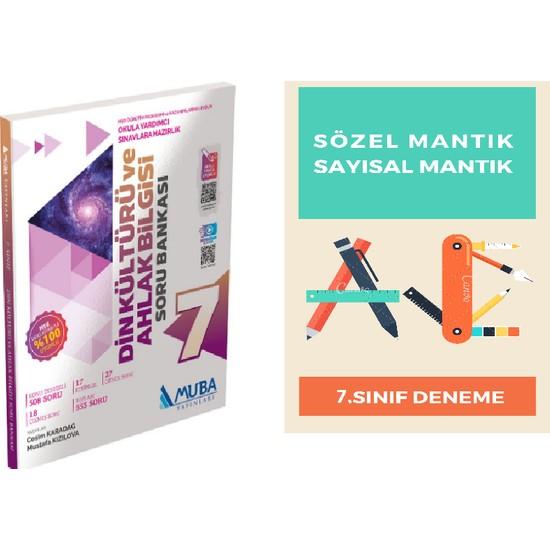 Muba Yayınları 7. Sınıf Din Kültürü ve Ahlak Bilgisi Soru Bankası + Deneme