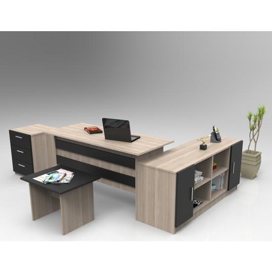 Yurudesign Vario ABCF Ofis Büro Masa Takımı 3 Renk