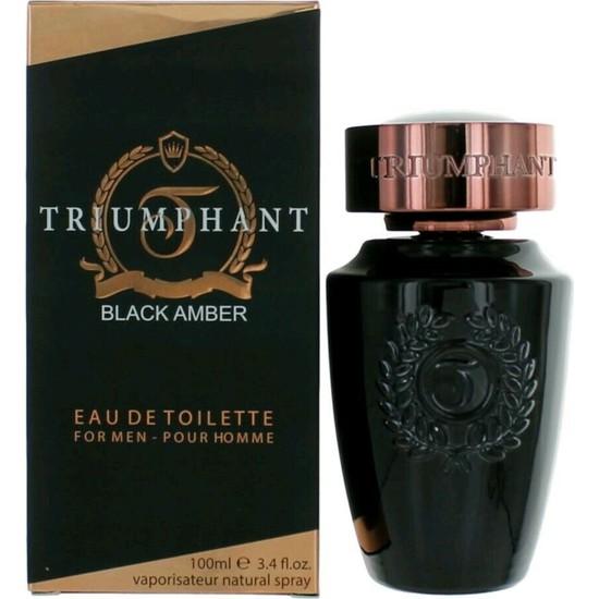 Triumphant Black Amber Edt 100ML Erkek Parfüm