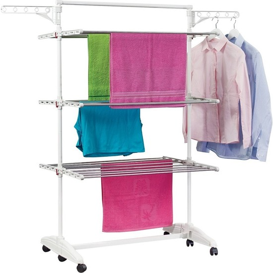 Ceraware Çamaşır Kurutma Askısı, 3 Katlı Çamaşır Kurutmalık