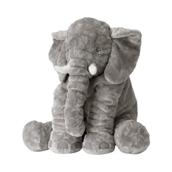 Ikea Jattestor Yumuşa Peluş Fil Oyuncak - Büyük Boy - Gri