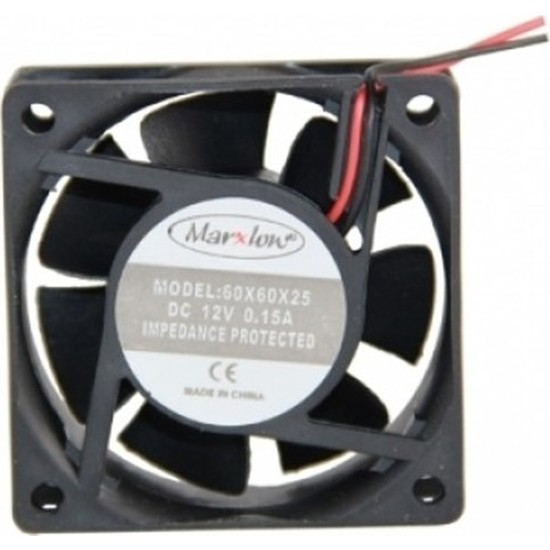 Marxlow 12V Fan - 60X60X25Mm