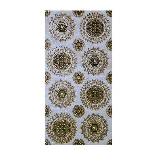 Mcm Mutfak Tezgah Arası Seramik Granit Dekor Emanuel Altın