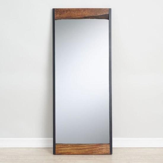 Kütükhouse Masif Ahşap Boy Aynası