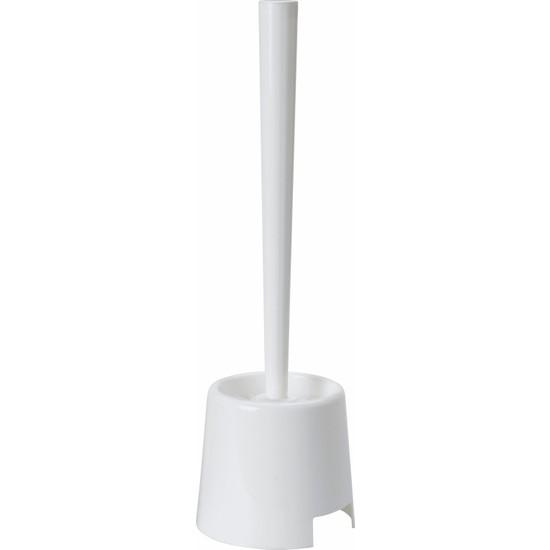 IKEA Bolmen Plastik Tuvalet Klozet Fırçası Beyaz