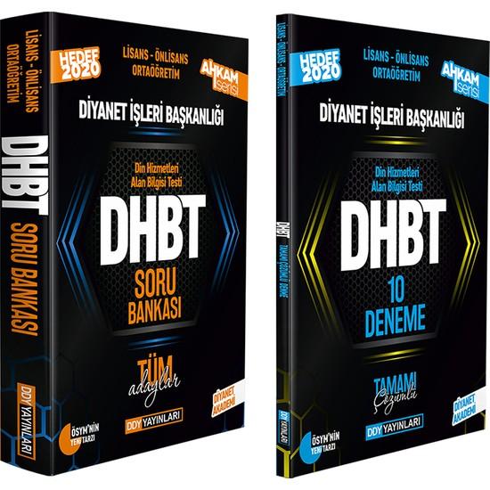 Ddy Yayınları DHBT 2020 Ahkam Serisi Tüm Adaylar Soru Bankası ve 10 Deneme 2'li Set