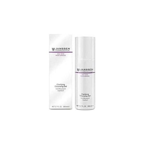 Janssen Cosmetics Oily Skin Clarifying Cleansing Gel 200 ml Temizleme Jeli JAN003450
