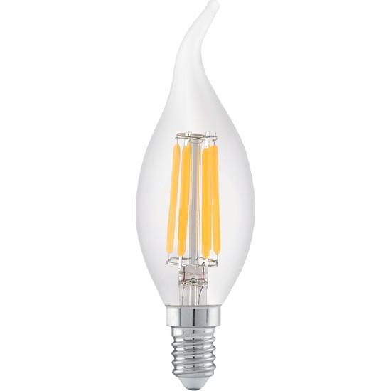 Heka 6W E14 C 35 Rustik LED Ampul 2700K ERD83
