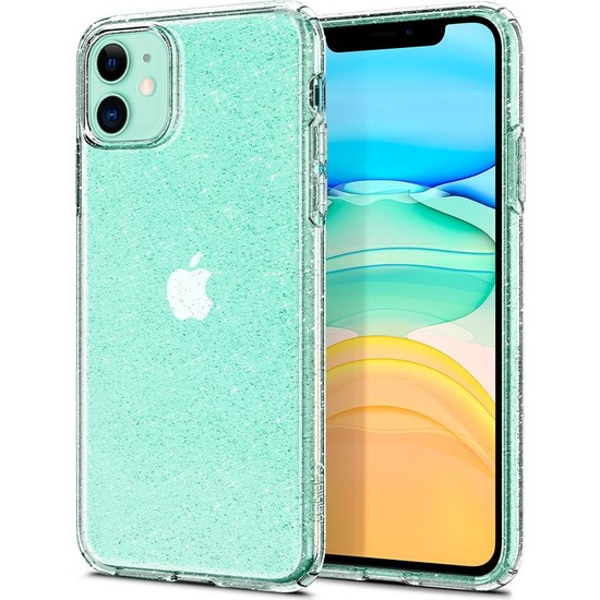 Spigen Apple iPhone 11 Kılıf Liquid Crystal Glitter Crystal Quartz - 076CS27181