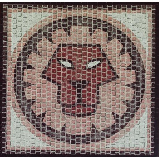 Domenech Aslan Burcu Simgesi Mozaik Taş Puzzle