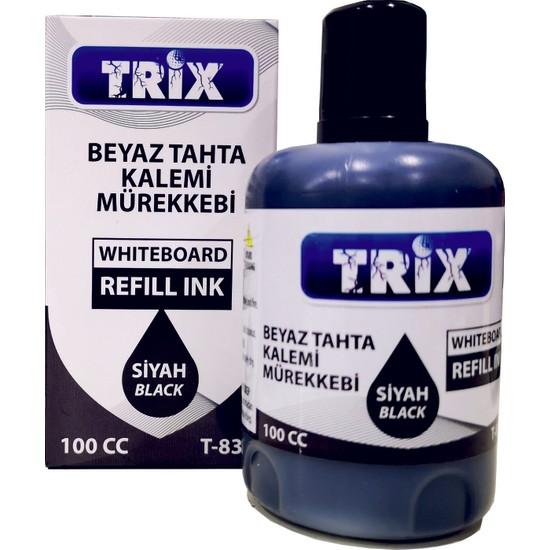 Trix Beyaz Tahta Kalemi Mürekkebi 100 ml Siyah