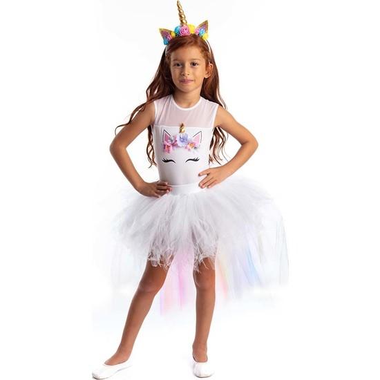 Tameris Kostüm Tütülü Unicorn Kostümü