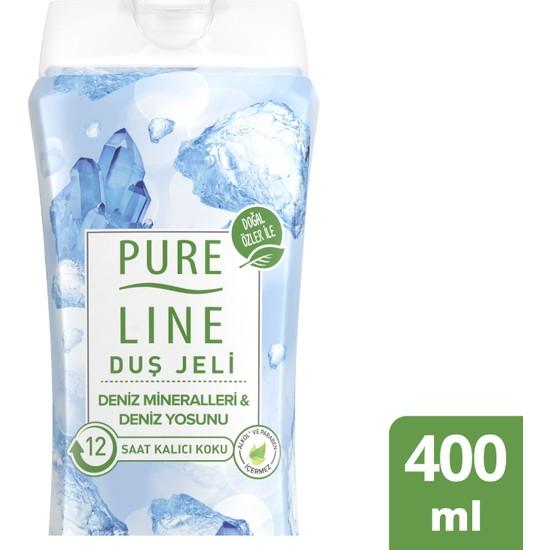 Pure Line Deniz Mineralleri & Deniz Yosunu Duş Jeli 400 ML