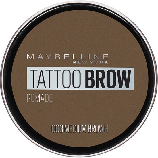 Maybelline New York Tattoo Brow Kaş Pomadı - 03 Medium Brown (Orta Ton)