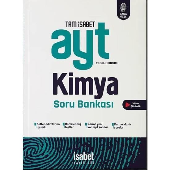 İsabet Yayınları Ayt Kimya Soru Bankası