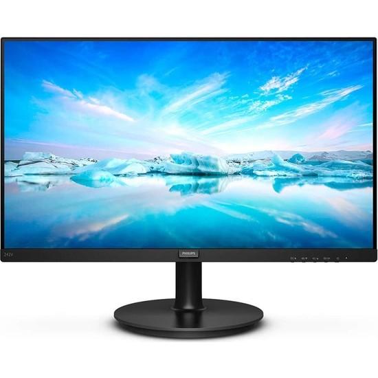 "Philips 242V8A 23.8"" 75Hz 4ms (HDMI+Display+Analog) Full HD IPS Monitör"