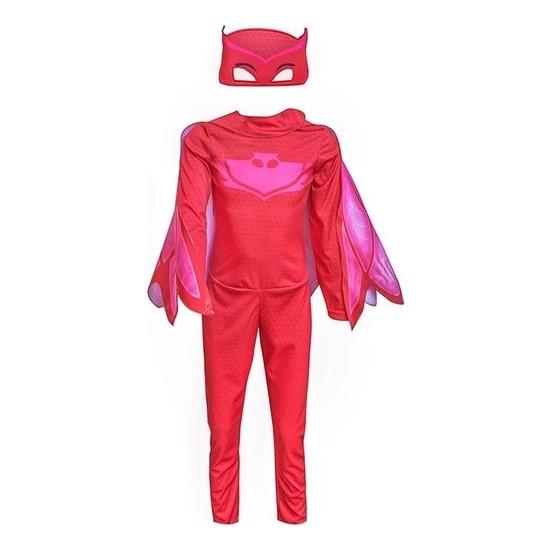 Evistro Pijamaskeliler Baykuş Kız Çocuk Kostüm 3-5 Yaş