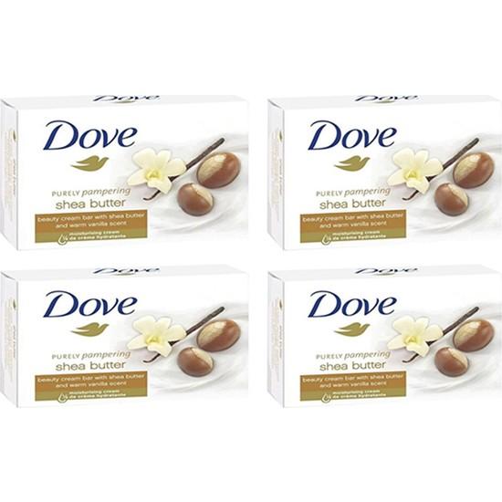 Dove Güzellik Sabunu Shea Butter 100 gr x 4