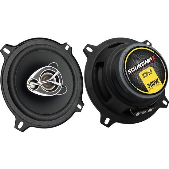 Soundmax Sx-C503 Hoparlör 300W Max Power 13 Cm 2Li Takım