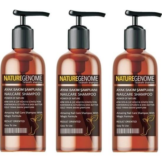 Nature Genome Tırnak Mantarı Şampuanı 3 Adet