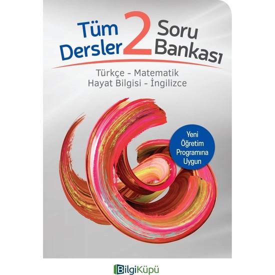 Tudem Yayınları Bilgi Küpü 2. Sınıf Tüm Dersler Soru Bankası (Türkçe-Matematik-Hayat Bilgisi-Ingilizce)