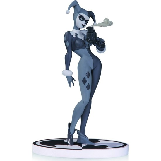 DC COLLECTIBLES Harley Quinn Black & White 2nd Edition Statue