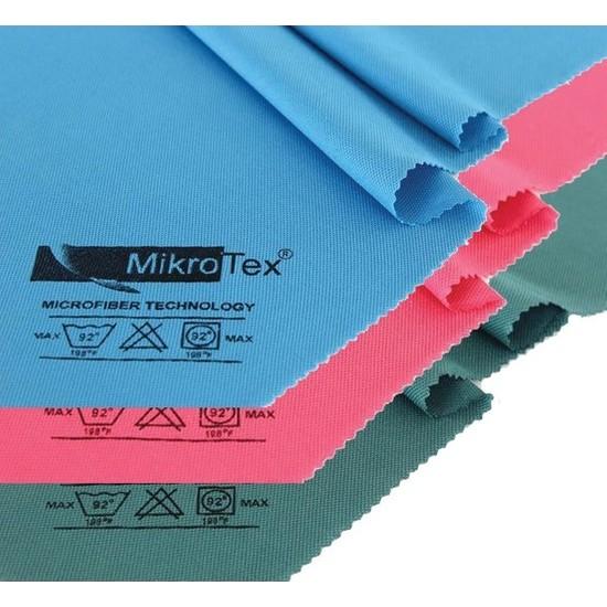 Mikrotex (3 Adet) Mikrofiber Kurulama Temizlik ve Cam Bezi 40X50 Cm. 3'lü
