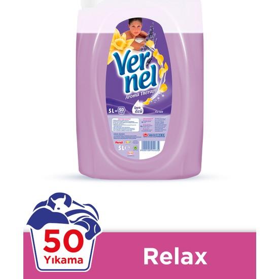 Vernel Çamaşır Yumuşatıcısı Aroma Therapy Relax 5 Lt 50 Yıkama