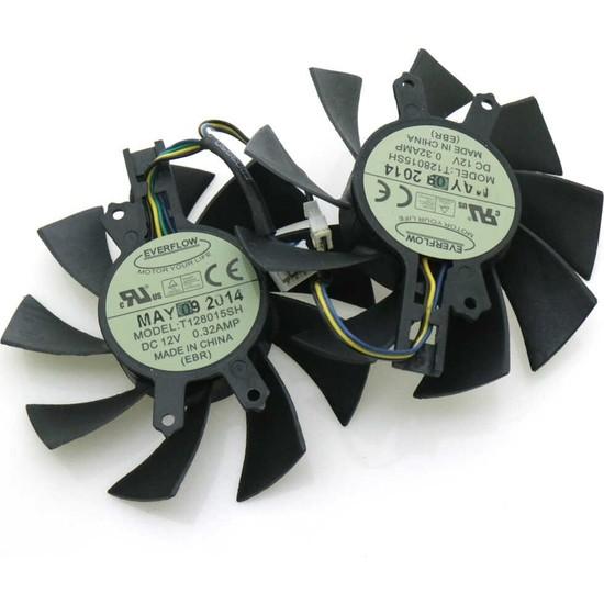 Everflow Hasee GM50Ti GTX750Ti GTX950 Ekran Kartı Fanı