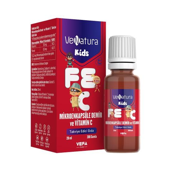 Venatura Kids Mikroenkapsüle Demir ve Vitamin C