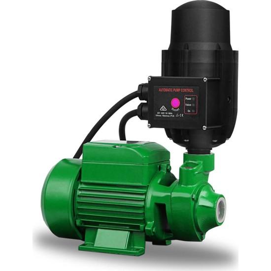 Staxx Power Elektrikli Su Motoru Paket Hidrofor Otomatik Su Pompası QB60 0.5hp 1'' 33 m Dik Basar