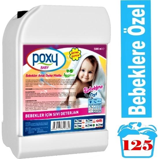 Poxy Bebekler Için Sıvı Deterjan 5000 ml