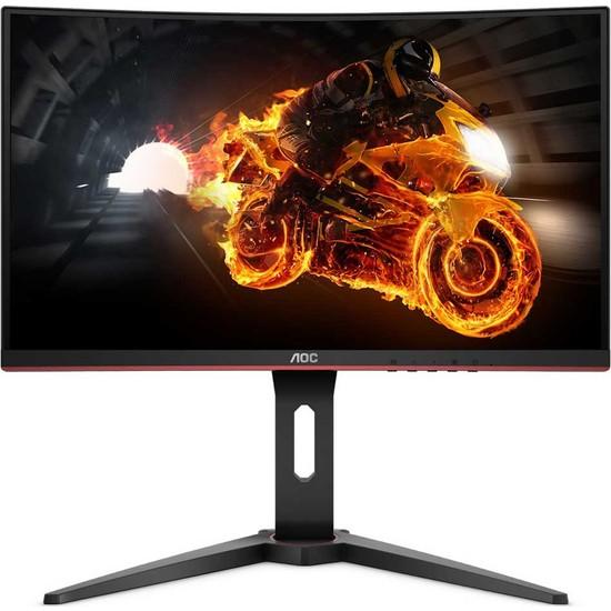 """AOC C24G1 24"""" 144Hz 1ms (HDMI+Analog+Display) FreeSync Full HD Curved Monitör"""
