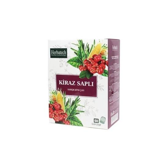 Herbatech Kiraz Saplı Karışık Bitki Çayı 60 Süzen Poşet