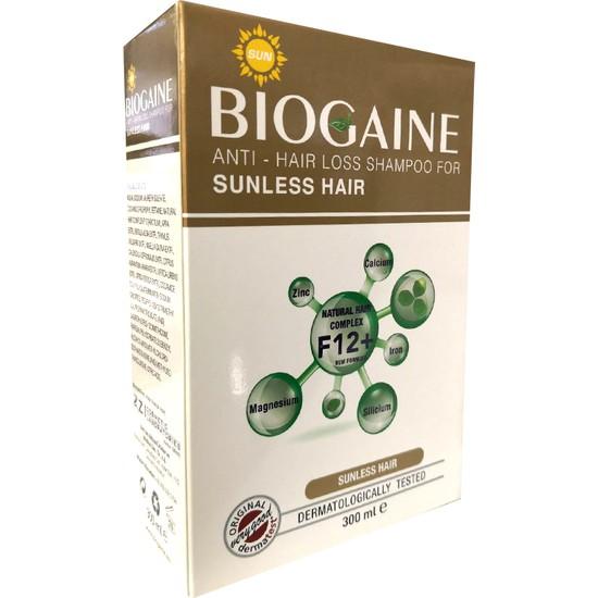 Biogaine Anti Hair Loss ŞampuanSunless Hair 300 ml Güneş Görmeyen Saçlar İçin