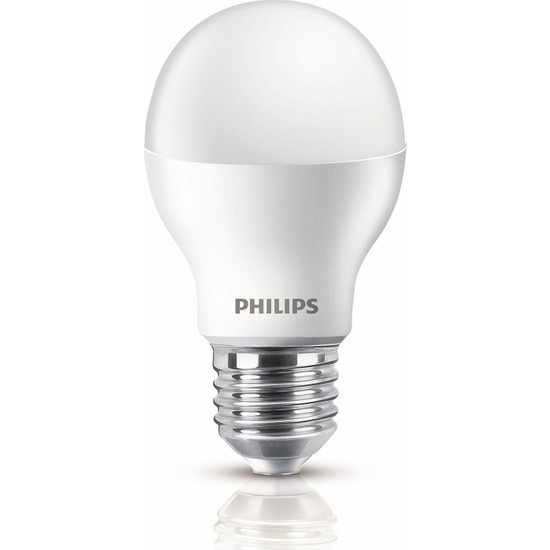 Philips 9 W LED Ampul E-27 Beyaz 3'lü