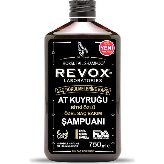 Revox At Kuyruğu Bitki Özlü Saç Bakım Şampuanı 750 ml