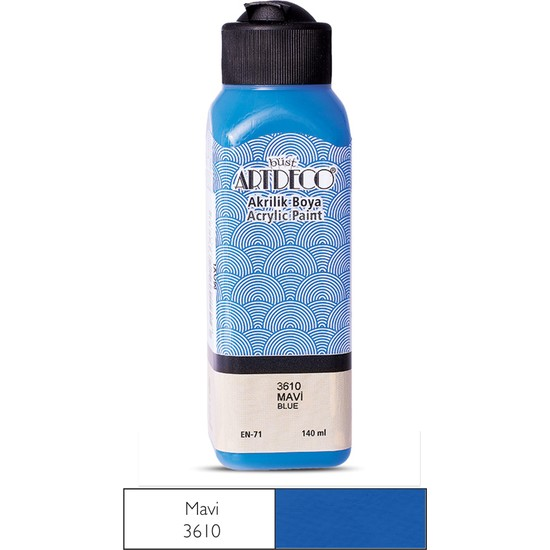 Artdeco Akrilik Boya 140 Ml Mavi Y-070R-3610