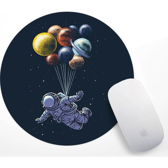 Astronot Tasarım Mouse Pad