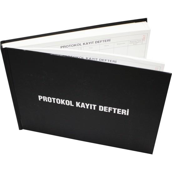 Naturist Protokol Kayıt Defteri 400 Sayfa-Sert Cilt Kapaklı