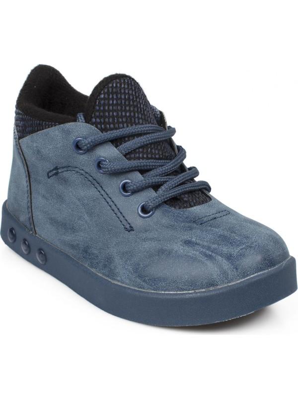 Vicco 313.P19K.105 Patik İşıklı Lacivert Çocuk Spor Ayakkabı