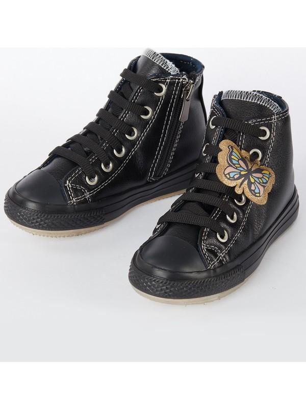 Denokids Kız Çocuk Siyah Kız Sneakers