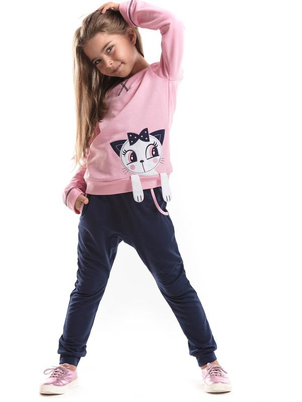 Mushi Kız Çocuk Kedi Sue Baggy Eşofman Takım