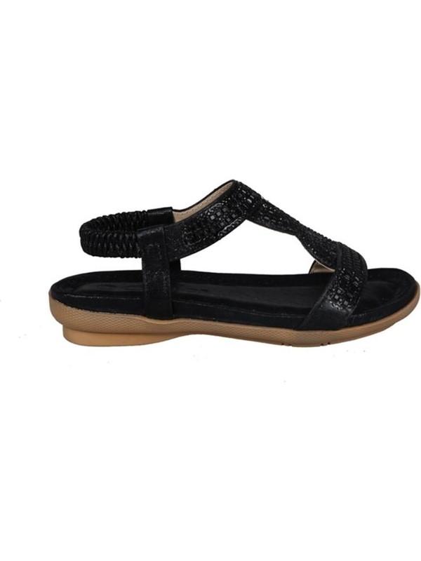 Guja 191-161 Siyah Çocuk Sandalet