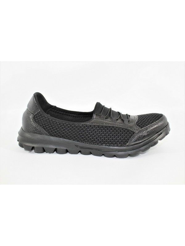Marine Shoes Siyah Kadın Sneaker Spor Ayakkabı 0031100