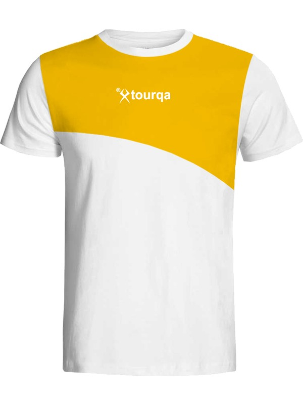 Torka Sarı Beyaz T-Shirt