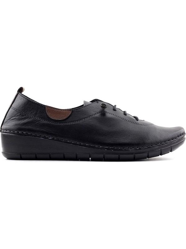 Evida 0207 Hakiki Deri Kadın Ayakkabı
